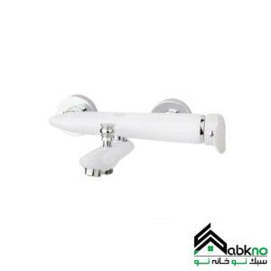 شیر حمام مدل رابیت سفید راسان