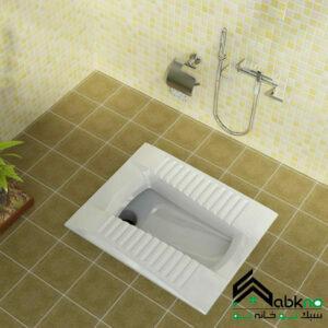 توالت زمینی گلسار فارس مدل لوسیا