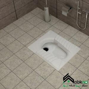 توالت زمینی گلسار فارس مدل مارانتا