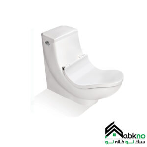 توالت فرنگی مروارید مدل سیلویا طبی