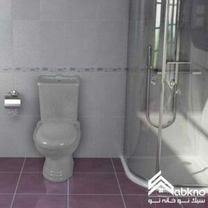 توالت فرنگی گلسار فارس مدل یاس