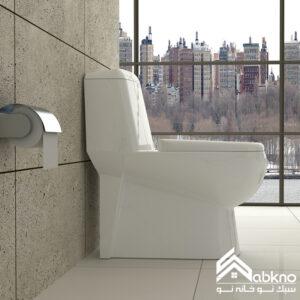 توالت فرنگی گلسار فارس مدل پارمیس پلاس